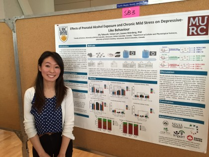 Weinberg Lab presents at UBC Neuroscience Extravaganza