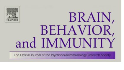 New paper accepted in Brain, Behavior, and Immunity
